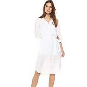 Velvet by Graham & Spencer Nandy LinenShirt Dress